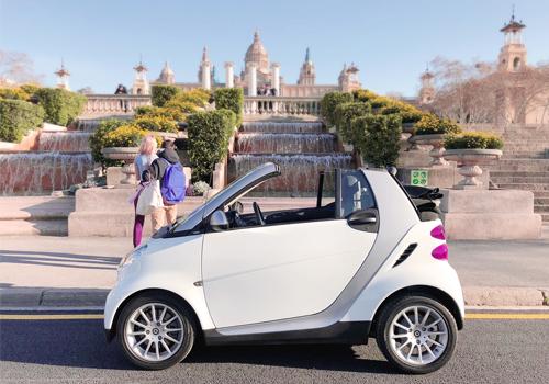 Louer voiture Smart