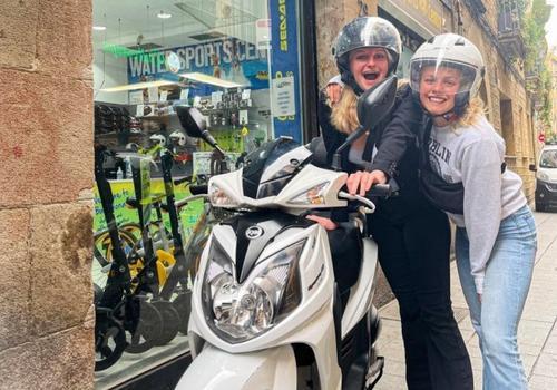 Rent SYM SR 125cc Motorbike