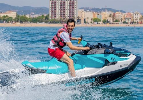 Moto de Agua Con Licencia Barcelona
