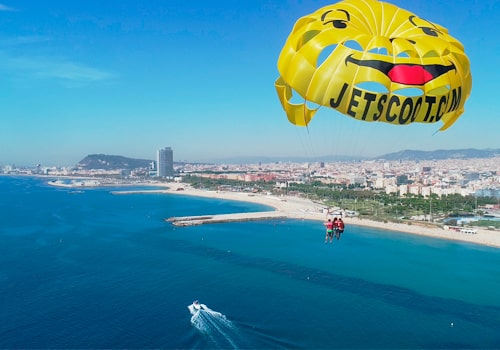 Fly with the Parasailing