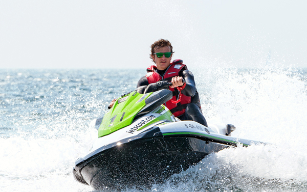 Special VIP subscription jet ski with license Barcelona