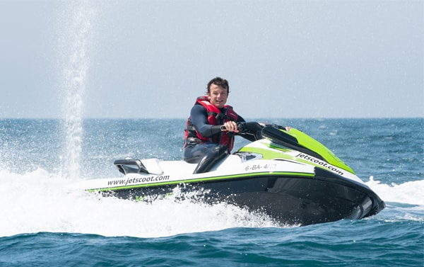 September and October subscription jet ski with license Barcelona