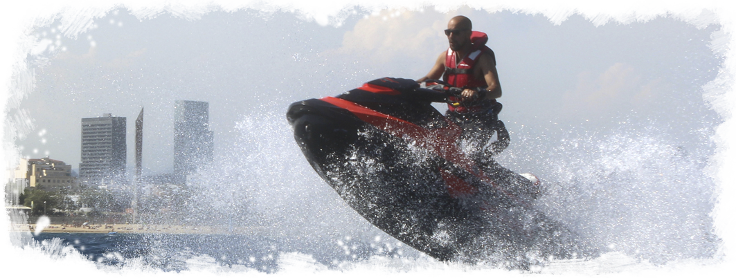 Sea-Doo GTI with license