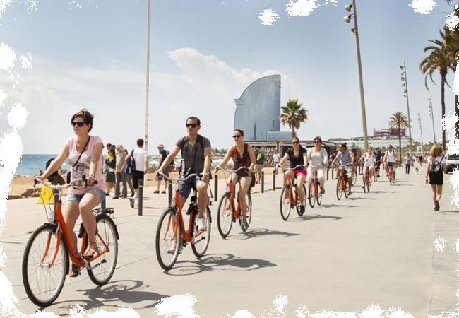 Tours exclusivos en bicicleta para visitar los lugares más emblemáticos de Barcelona