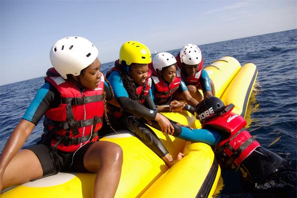 Alquilar banana Boat