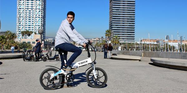 bicicleta electrica trick