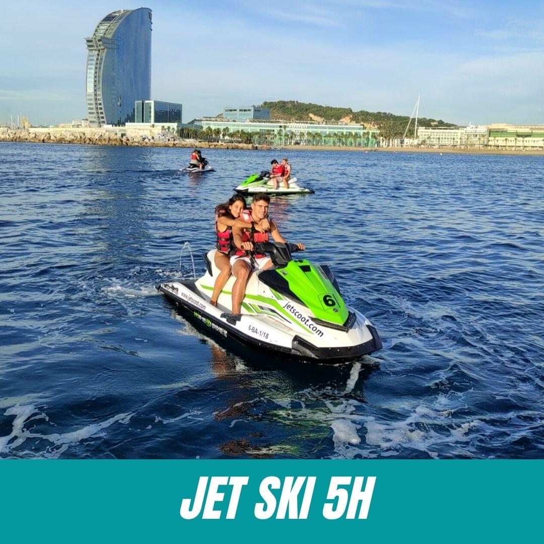Bono 5h Moto de Agua sin licencia JetScoot
