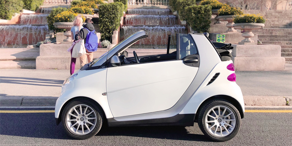 Alquilar coche Smart