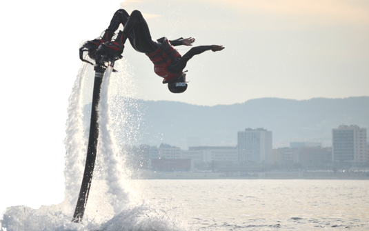 Flyboard en Catalogne
