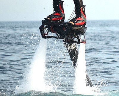 Learn to do Flyboard skills