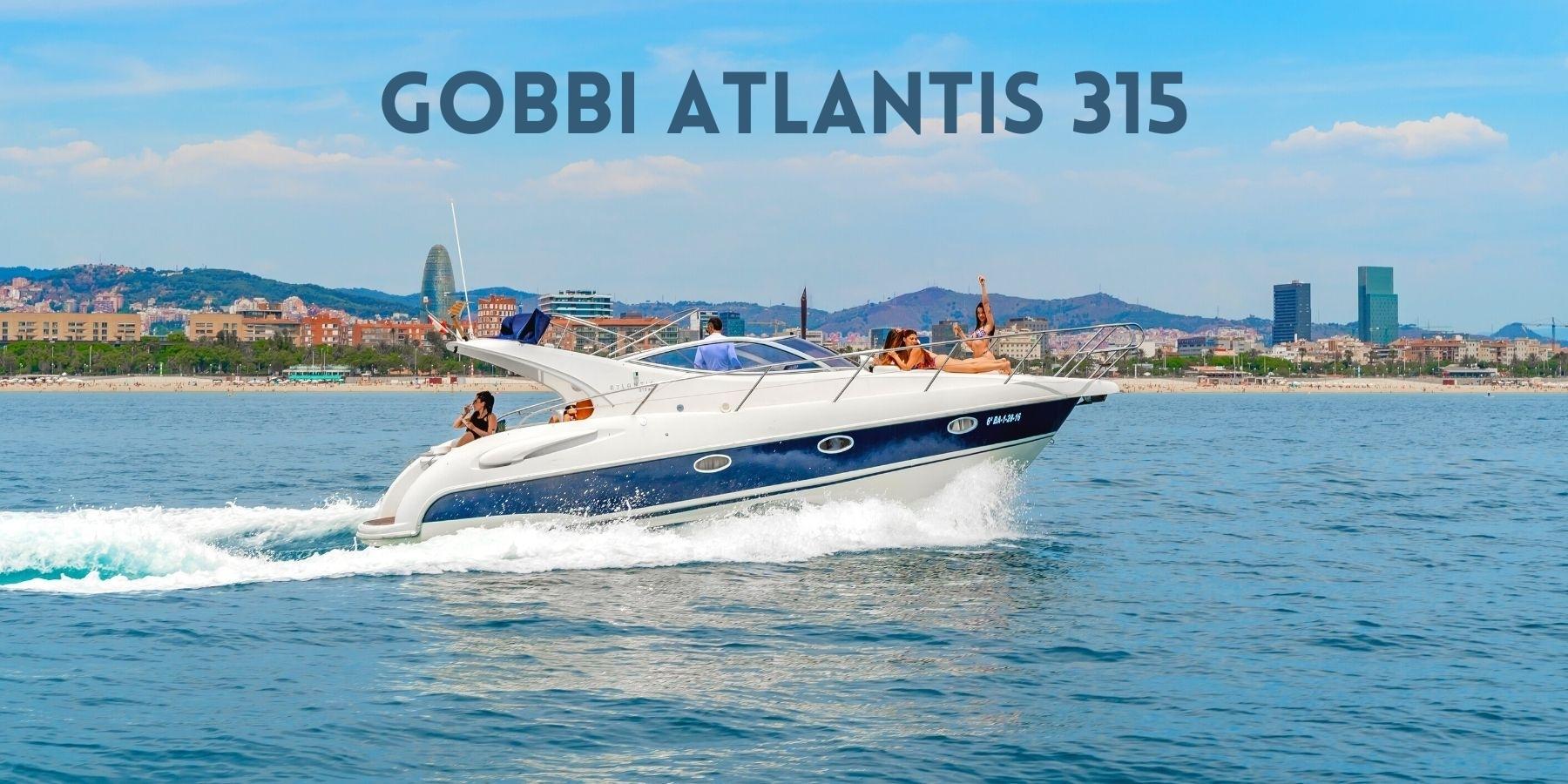 Alquiler yate de lujo Gobbi Atlantis en Barcelona