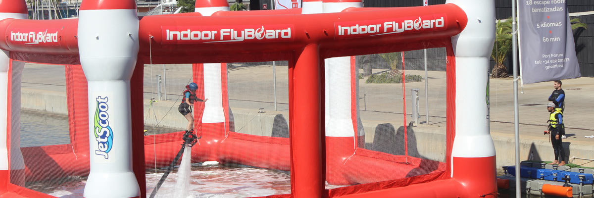 Indoor Flyboard en Barcelona