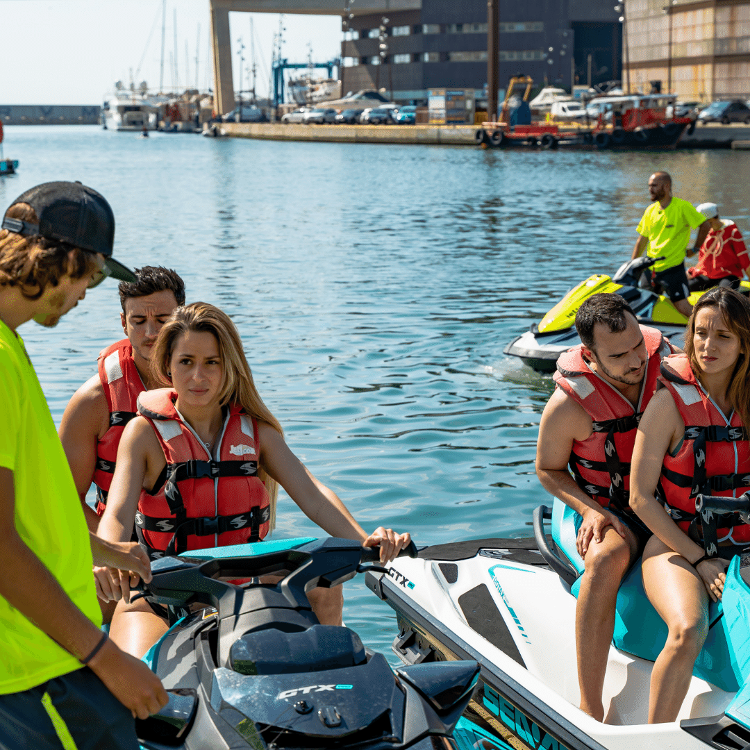 Best jet ski service in Barcelona with JetScoot