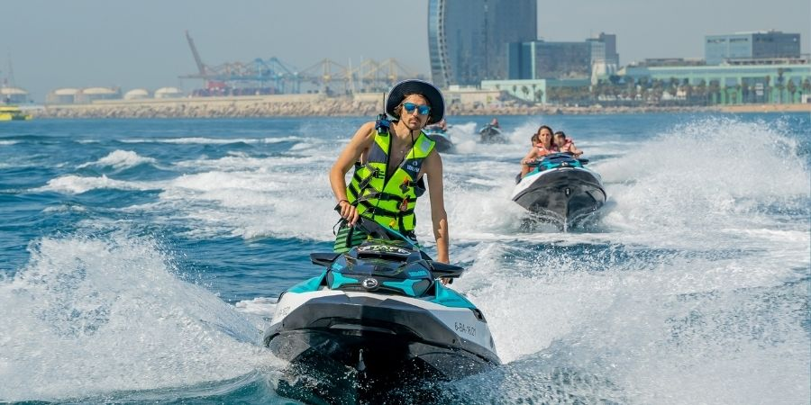 Enjoy the best jet ski experience with our tours