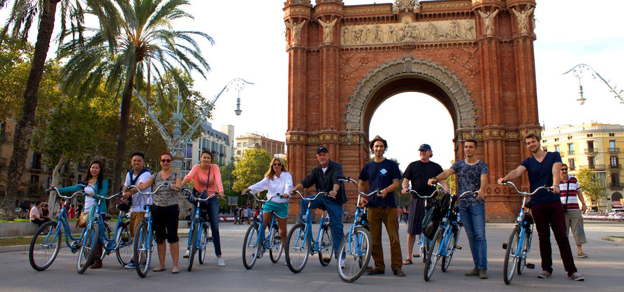Discover Barcelona with our bike tours