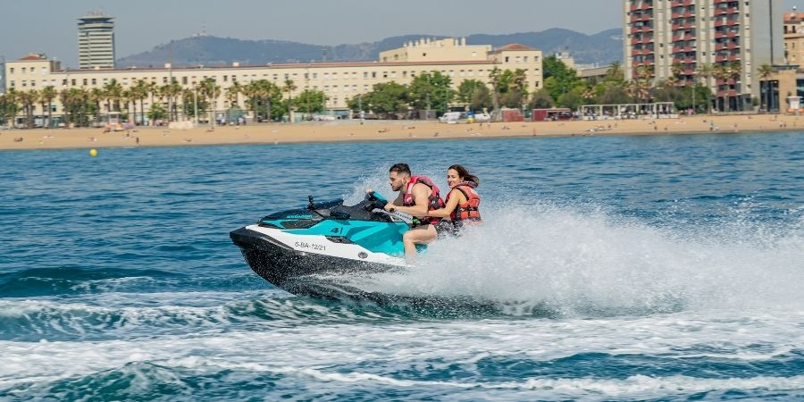 The most populat Jet Ski Tour to Llobregat