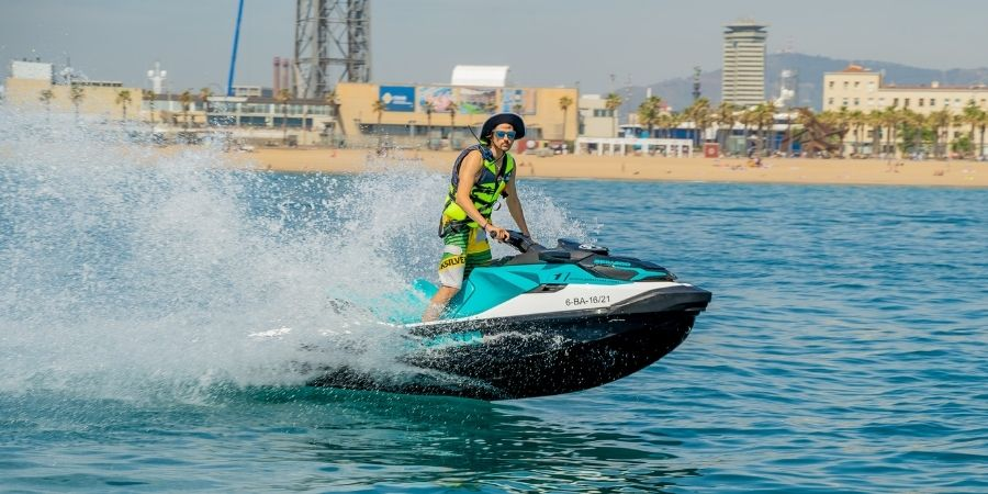 Beauty views and waves in this Jet Ski Tour