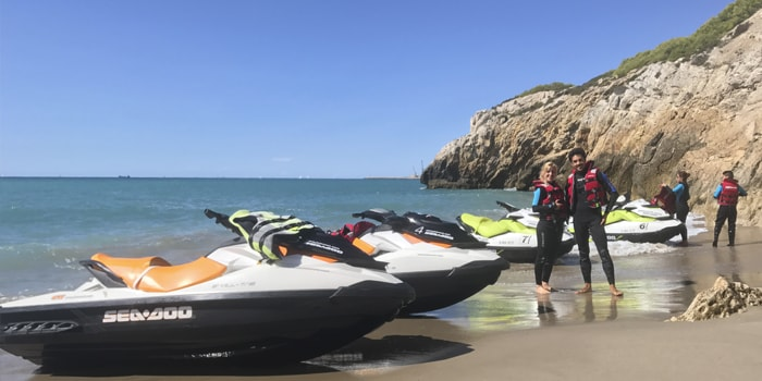 Visit Sitges in this long Jet Ski Tour